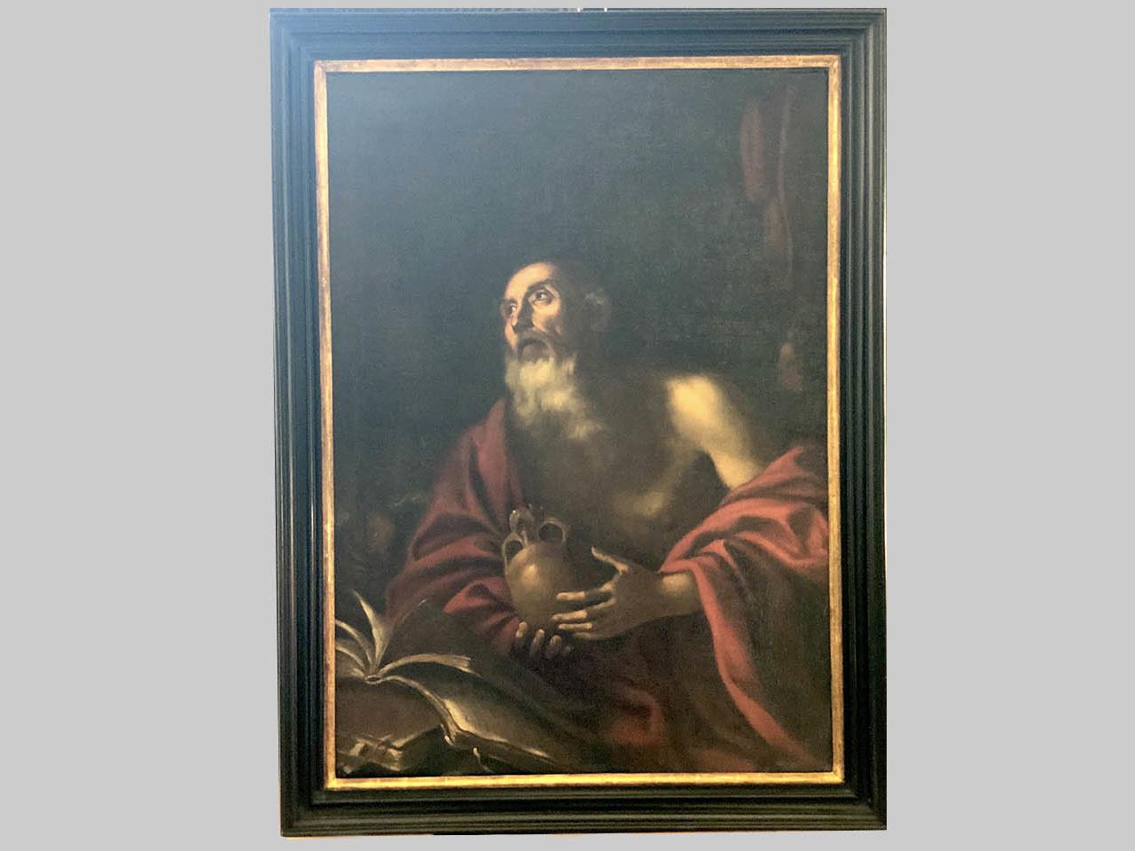 Dipinto raffigurante San Girolamo